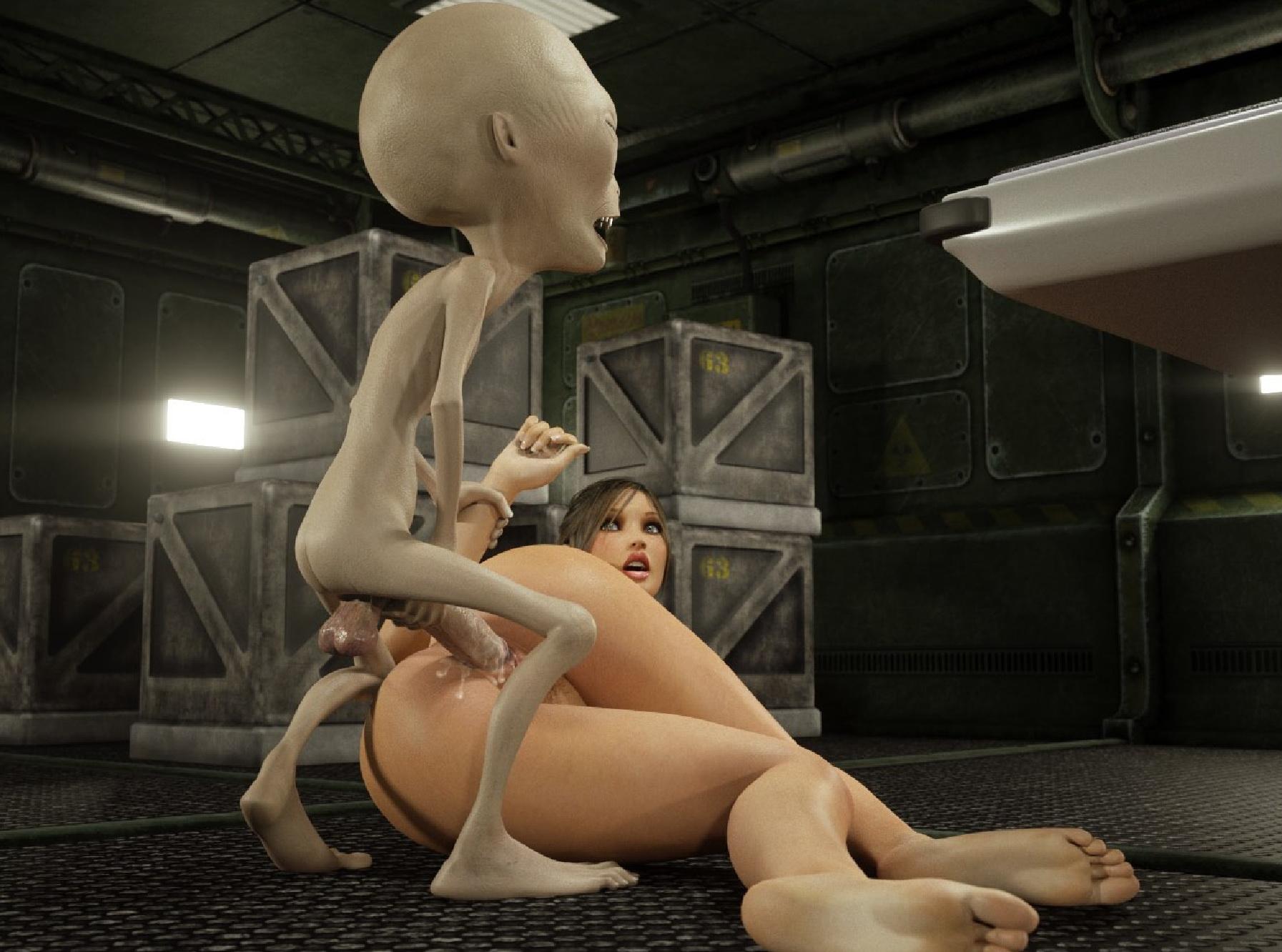 Порно пришельцы 3d монстры