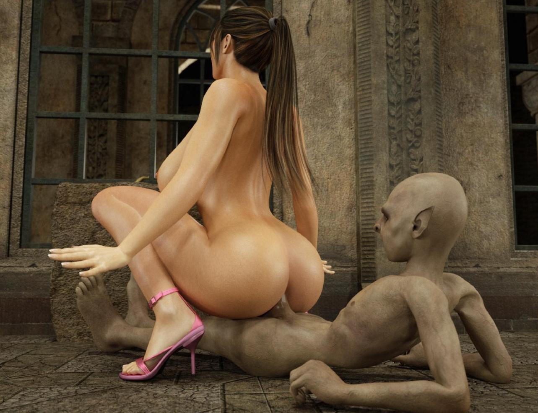 Human and elf sex porn hentai image