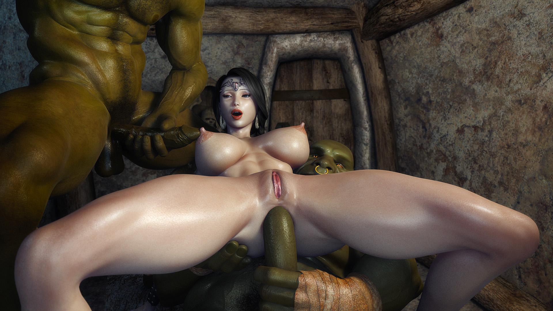 картинки 3д секс монстрами